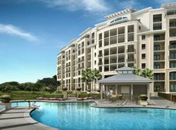 Grande Villas in Indian Beach, North Carolina - computerized rendering
